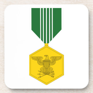 Army Commendation Medal Drink Coaster