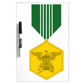 Army Commendation Medal Dry Erase Board