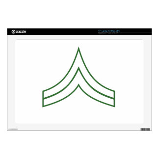 Army Corporal Rank Insignia Laptop Skins
