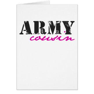 army cousin card