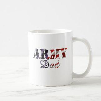 Army Dad - American Flag Coffee Mug