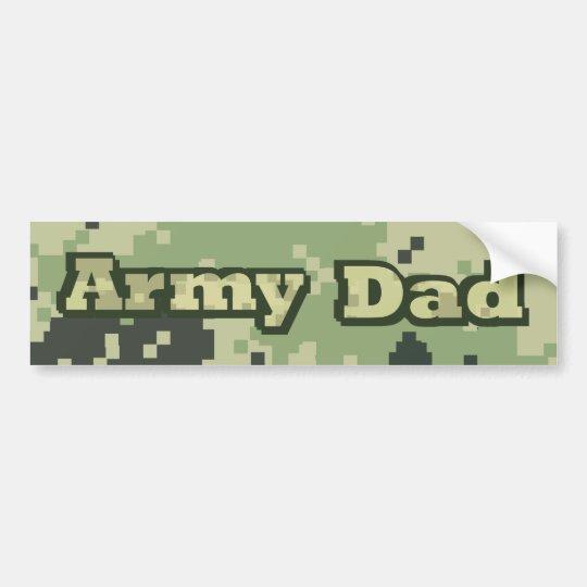 Army Dad Bumper Sticker