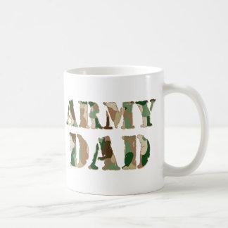 Army Dad camo Coffee Mug