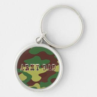 Army Dad Camouflage Keychain