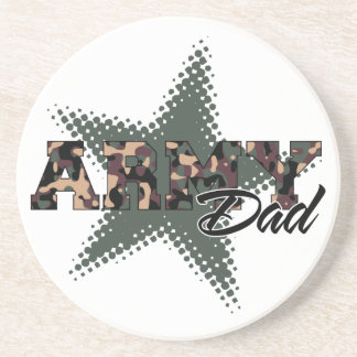 Army Dad Coaster