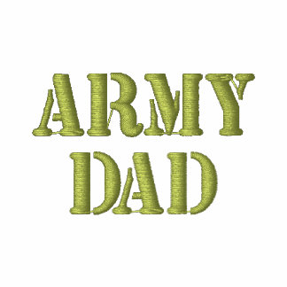 ARMY DAD Embroidered Shirt