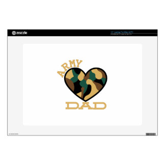 Army Dad Laptop Decal
