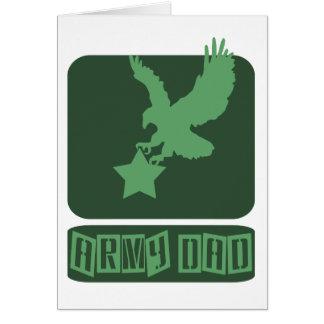 Army dad love card