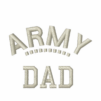 Army Dad Military Family Pride Patriotic Father Polo Shirt
