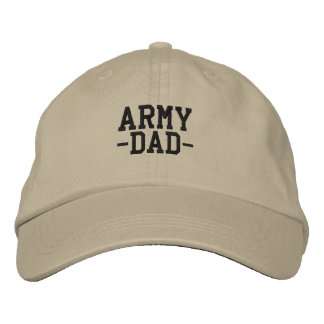 Army Dad  Military Father Embroidered Baseball Cap