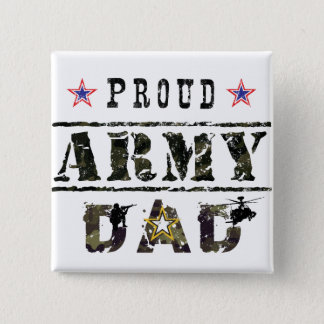 Army Dad Pinback Button