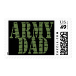 Army Dad Postage Stamp