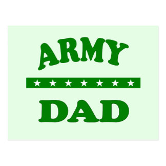ARMY DAD POSTCARD