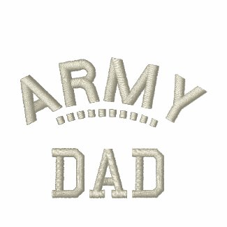 Army Dad Shirt embroideredshirt