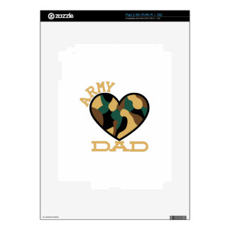 Army Dad Skins For iPad 2