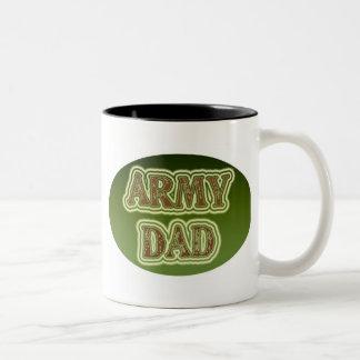 Army Dad Two-Tone Coffee Mug