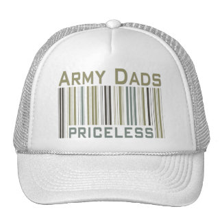 Army Dads Priceless Bar Code Trucker Hat