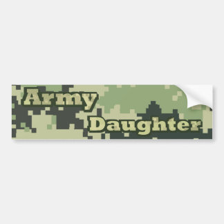 Army Daughter Bumper Sticker