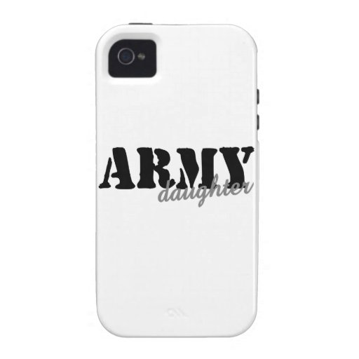 Army Daughter Vibe iPhone 4 Cases