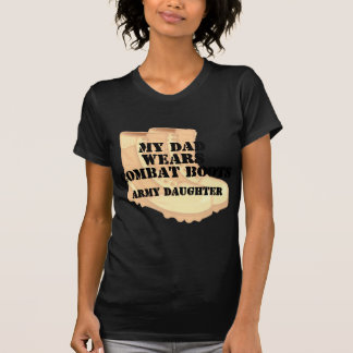 Army Daughter Dad wears DCB.png T-shirts