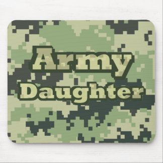 Army Daughter Mouse Pad