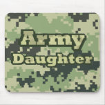 Army Daughter Mouse Pads