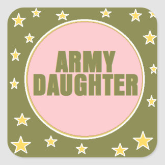 ARMY DAUGHTER Sticker