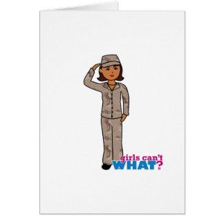 Army Desert Camo Dark Card