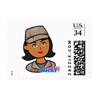Army Desert Camouflage Postage Stamp