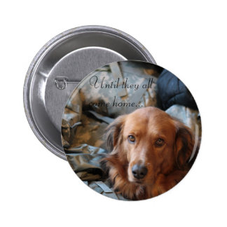 Army Dog Button