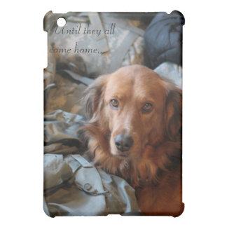 Army Dog iPad Case