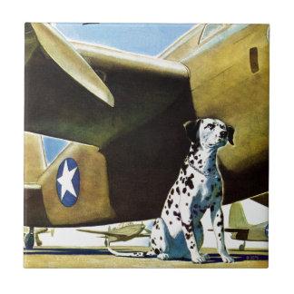 Army Dog Tile