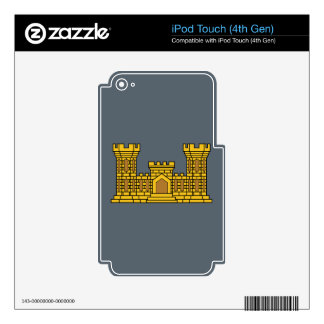 Army Engineer Insignia iPod Touch 4G Skins