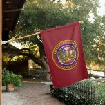 Army Engineer Veteran  House Flag