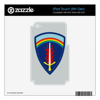 Army Europe Skins For iPod Touch 4G
