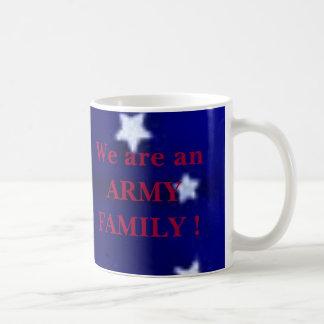 ARMY FAMILY CLASSIC WHITE COFFEE MUG