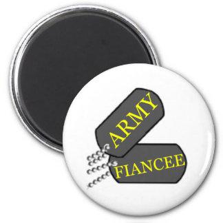 Army Fiancee 2 Magnet