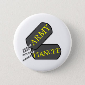 Army Fiancee 2 Pinback Button