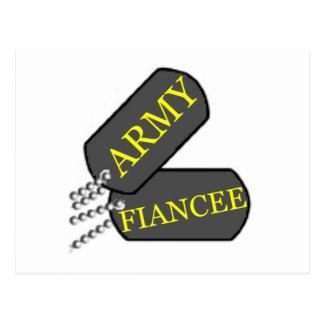 Army Fiancee 2 Postcard