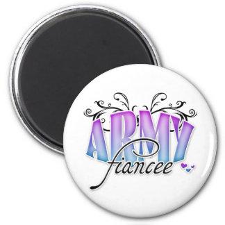 Army Fiancee Magnet