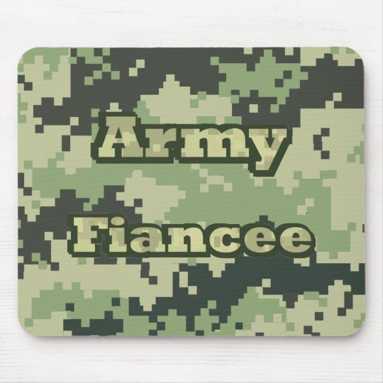 Army Fiancee Mouse Pad