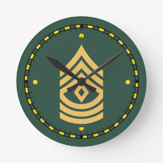 Army First Sergeant Clock