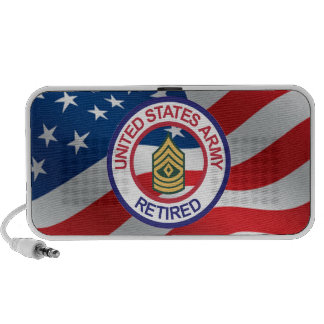 Army First Sergeant Portable Speaker