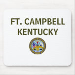 ARMY FT. CAMPBELL KENTUCKY MOUSE MATS