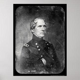 Army General John Wool Daguerreotype 1844 Poster