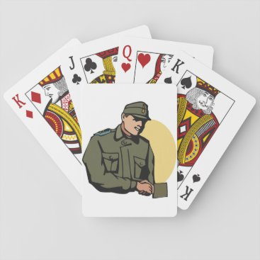 Army General Playing Cards