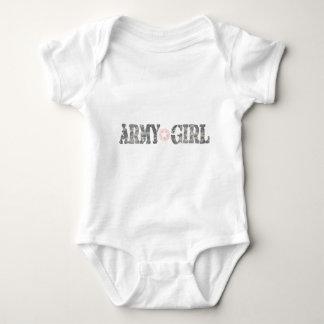 ARmy Girl Camo Baby Bodysuit