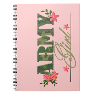 Army Girl Notebook