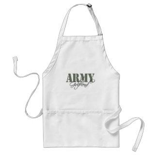 Army Girlfriend Adult Apron