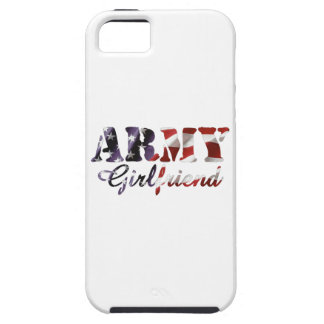 Army Girlfriend American Flag iPhone 5 Cases